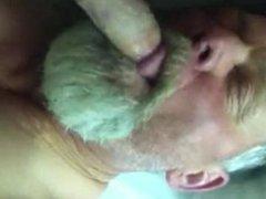 Daddy Blowing vidz Strangers Cock
