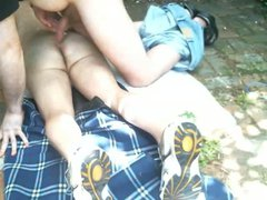 Hidden cam vidz of my  super sister's boyfriend playing with me