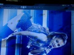 Ariana Grande vidz cumshot 3