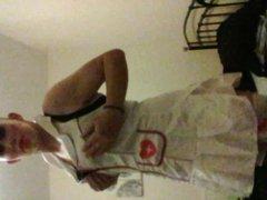 new nurse vidz costume