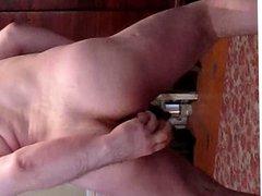 18 inch vidz long dildo  super completely in ass!2