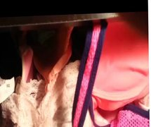 Cumming in vidz NOT my  super teen daughter's panty drawer