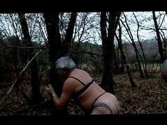 Fucked ans vidz whipped in  super forest
