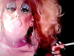 smoking PVC vidz Dragqueen