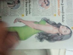 Alia bhatt vidz showered with  super my cum load