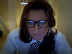 Naughty police vidz woman crossdresser  super in uniform