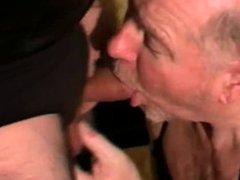 Grandpa get vidz beautiful mouth  super cumshot