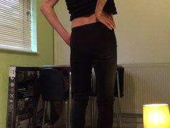 skinny boy vidz in black  super legging