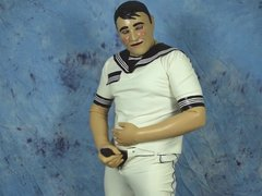 rubber sailor vidz wanking