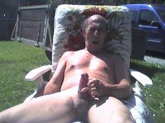 Grandpa outdoor vidz cum