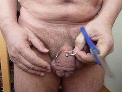 3 Gummiringe vidz von Hoden  super und Penis entfernen