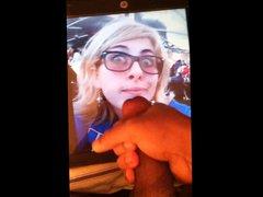 My friend vidz glasses cum  super tribute