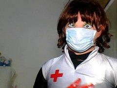 kigurumi nurse vidz wanking