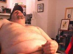 Chubby bear vidz daddy jerking  super off