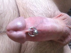 Electro stim vidz + ejac  super cumshot free hand
