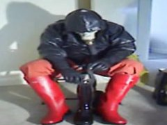 Red wellies vidz cock play.