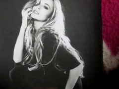 Lindsay Lohan vidz Cum Tribute  super 5