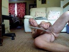 longing naked vidz floor wanking