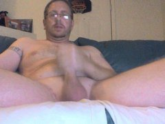 Oiled up vidz Cock Stroking  super Session