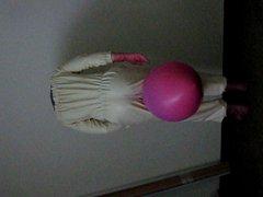 Gummianzug und vidz Luftballon -  super latex rubber suit and balloon
