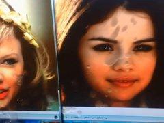 Selena Gomez vidz +Taylor Swift  super cum tribute #1