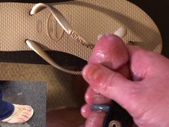 Gold flip vidz flops tribute  super with cleanup