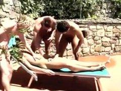 Pool boys vidz bareback orgy