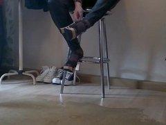 DWT Crossdresser vidz Wooden high  super heels