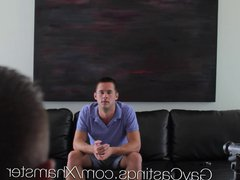 HD GayCastings vidz - Hot  super straight guy with huge dick auditions