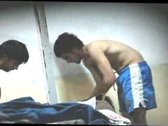 Friends Undressing vidz in the  super Locker Room