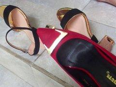 SANDAL HIGH vidz HEEL Cumshot  super on Sandal High Heel W33 Wf's Sandal