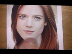 Cum Tribute vidz - Rose  super Leslie