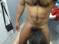 horny in vidz shower, gym,  super sauna 4