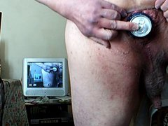 Standing anal vidz gaping +  super beer can 1