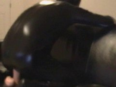 riding dildo vidz in latex