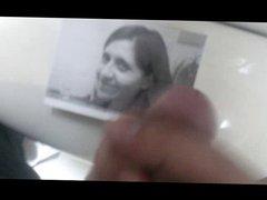 Cum tribute vidz on my  super beatiful former girld friend pic