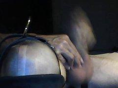 CD inflatable vidz dildo and  super urethra enlargement