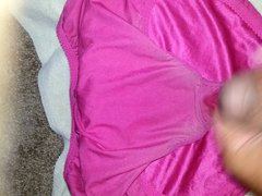 Cumming in vidz Silky BBW  super Panties