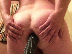 Opening My vidz Ass With  super Dick Rambone