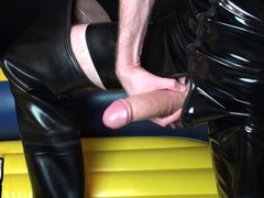 Dick Pump vidz Session in  super Rubber and Waders