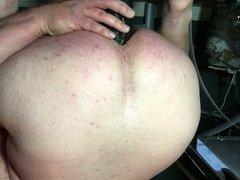 Gaping My vidz Ass With  super Dick Rambone