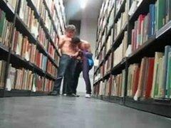 boys cumming vidz in the  super library