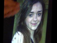 Maisie Wiliiams vidz 18th birthday  super bukkake tribute