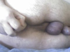 Dildoing, fingering vidz and fisting  super my ass Lots of precum part2