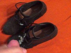 Cum on vidz wifes black  super TOMS wedges shoes