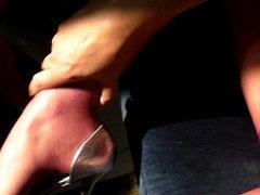 Short video, vidz purple pantyhose  super cum