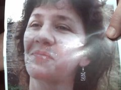 Tribute for vidz Tributes Mom  super More 1 - facial cum on her lips