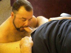 Daddy's load vidz in my  super mouth and on my face