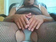 Cum in vidz Fishnet Body  super Stocking and Panties
