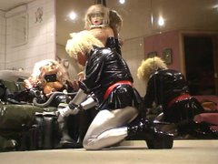 Roxina Blond vidz Slut Doll  super X